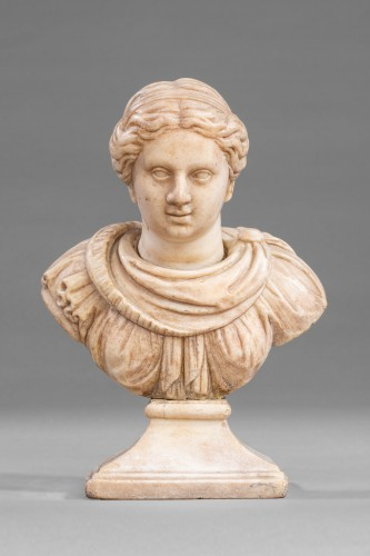 Marble renaissance bust  - Sculpture Style Renaissance