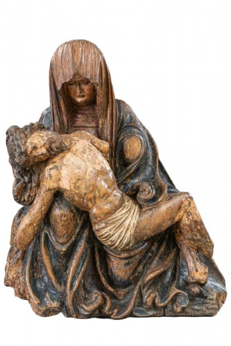 Pietà - Circle Of The Master Of Rabenden, Germany early 16th Century