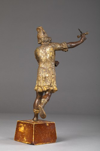 Saint Michael in bronze Entourage of Lorenzo Vaccaro - Naples, late 17th c -