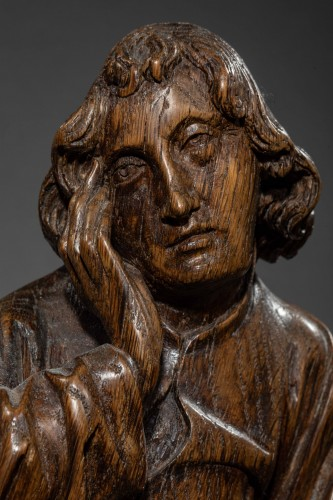 Mourning Virgin and Saint John - Southern Netherlands 15th century -