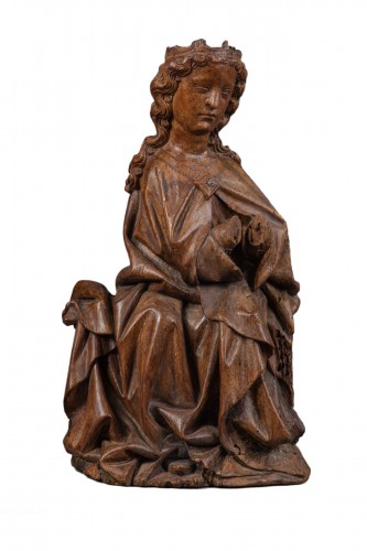 Virgin in Walnut - Köln(?), End of the fourteenth century
