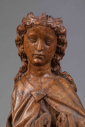 Virgin in Walnut - Köln(?), End of the fourteenth century -