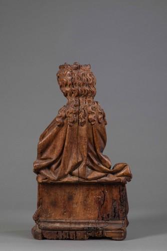 <= 16th century -  Virgin in Walnut - Köln(?), End of the fourteenth century