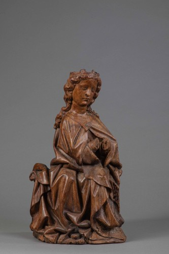 Virgin in Walnut - Köln(?), End of the fourteenth century - Middle age