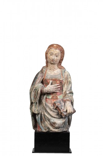 Virgin of the Annunciation - Guyenne, Late 15th century
