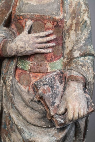 <= 16th century -  Virgin of the Annunciation - Guyenne, Late 15th century