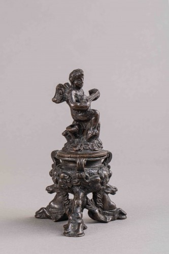 Renaissance Bronze Inkwell - Padua, Second half of the 16th Century - Decorative Objects Style Renaissance