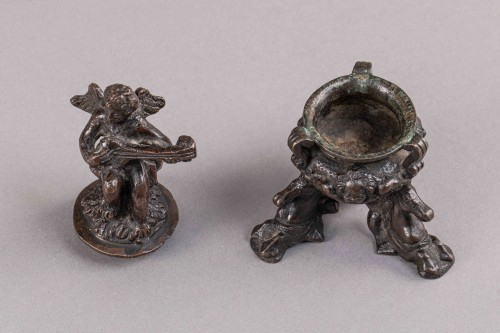 Renaissance Bronze Inkwell - Padua, Second half of the 16th Century -