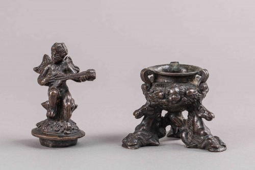 Renaissance Bronze Inkwell - Padua, Second half of the 16th Century - Renaissance