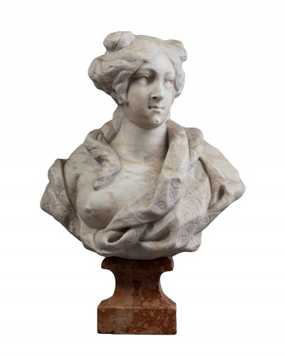 Bust of a woman - Giovanni Bonazza (1654-1736)