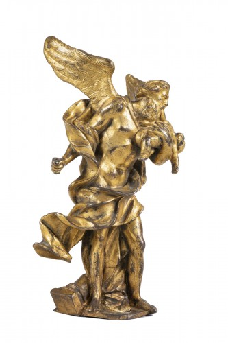 Baroque gilded  bronze from the middle of the XVII