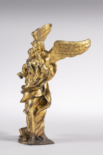 Baroque gilded  bronze from the middle of the XVII - Sculpture Style