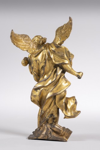 Sculpture  - Baroque gilded  bronze from the middle of the XVII