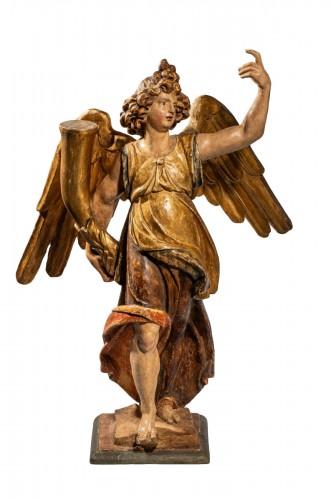 Important figure of an renaissance angel
