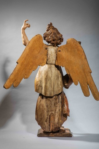 Sculpture  - Important figure of an renaissance angel