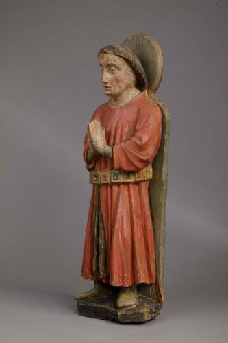 Sculpture  -  Donor in prayer - Duchy of Savoy, 15th century