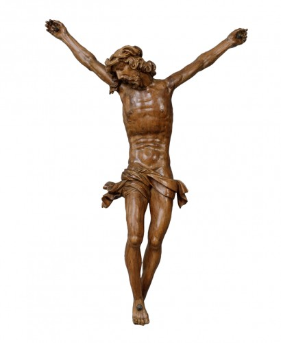 Monumental Christ -  Southern Netherlands, 16th century