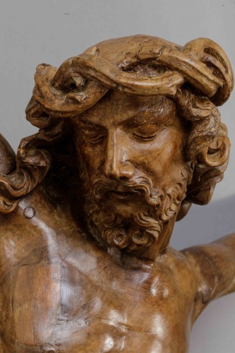 Sculpture  -  Monumental Christ -  Southern Netherlands, 16th century