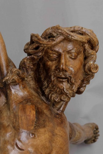 Middle age -  Monumental Christ -  Southern Netherlands, 16th century
