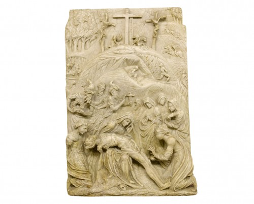 Deposition in alabaster - Southern Netherlands or Germany, 16th century