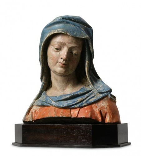 Bust of the Virgin - Lower Rhine, Late 15th / early 16th century