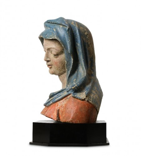 <= 16th century - Bust of the Virgin - Lower Rhine, Late 15th / early 16th century
