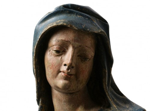 Bust of the Virgin - Lower Rhine, Late 15th / early 16th century  - Middle age