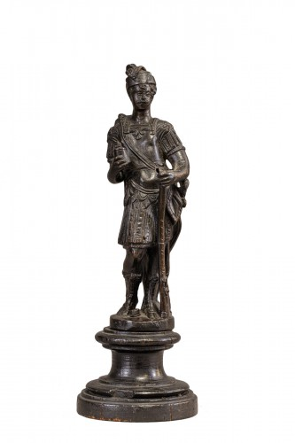 Venitian soldier in bronze - End of the 16th- beginning of the 17th century