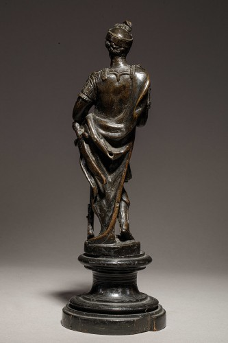 Sculpture  - Venitian soldier in bronze - End of the 16th- beginning of the 17th century