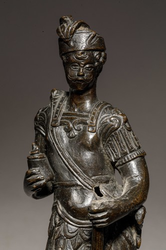 Venitian soldier in bronze - End of the 16th- beginning of the 17th century -