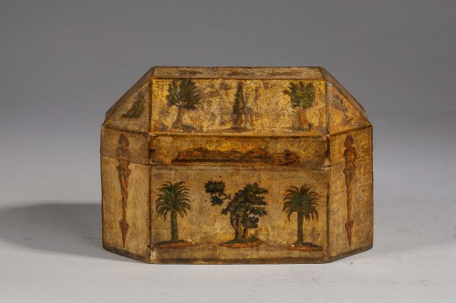 Louis XV - Perfume Box in Arte Povera - Venice, 18th century