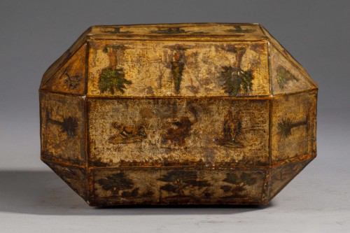 Antiquités - Perfume Box in Arte Povera - Venice, 18th century