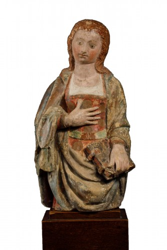 Virgin of the Annunciation, France (Guyenne), 15th century