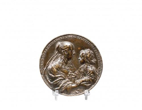 "Jean Warin - Bronze  Medal ""Le Val-de-Grâce"""