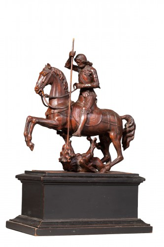 Saint George slaying the dragon - Gothic Revival