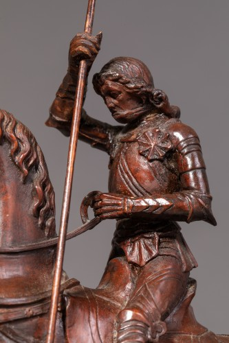 Saint George slaying the dragon - Gothic Revival -