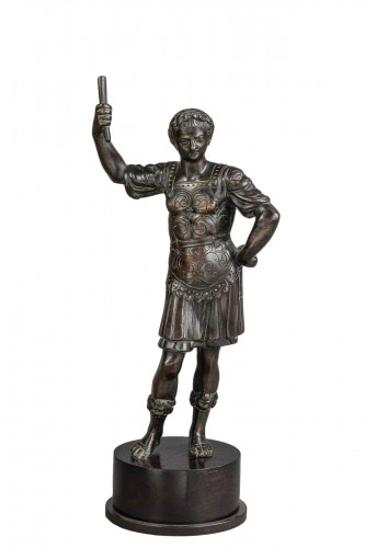 Caesar In Bronze - Italy, Eighteenth Century