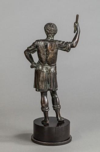 Caesar In Bronze - Italy, Eighteenth Century - Sculpture Style Louis XVI