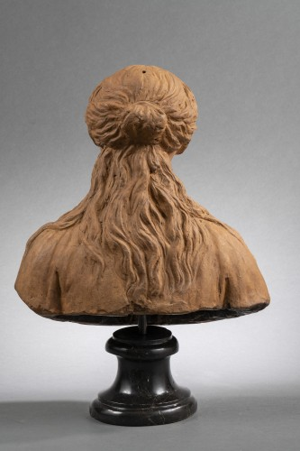 Renaissance Reliquary bust in terracotta - North of Italy, 16th century  -