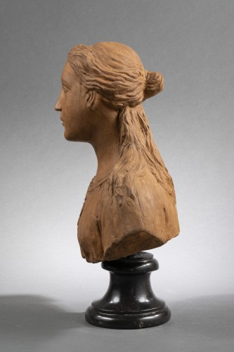 <= 16th century - Renaissance Reliquary bust in terracotta - North of Italy, 16th century
