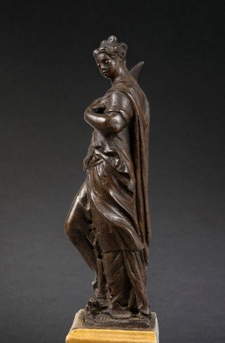 <= 16th century - Workshop of Girolamo Campagna - Judith, bronze, Venice, end of the 16th c.