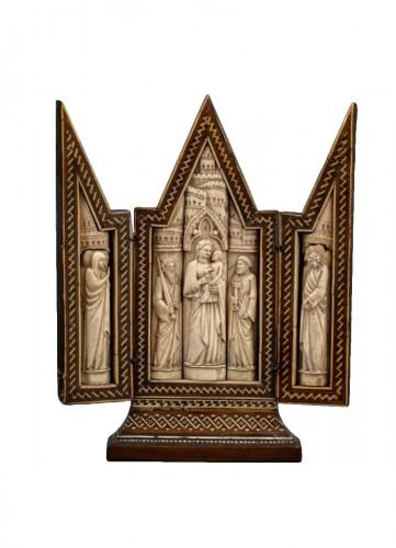 Triptych, Embriachi workshop, Venice, c.1390-1400