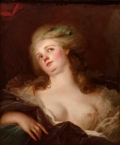 Paintings & Drawings  - La Rêverie - J. J. HEINSIUS, circa 1780