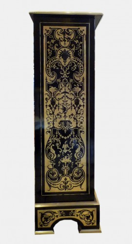 A French Louis XIV style Boulle marquetry on ebony cabinet - Furniture Style Napoléon III
