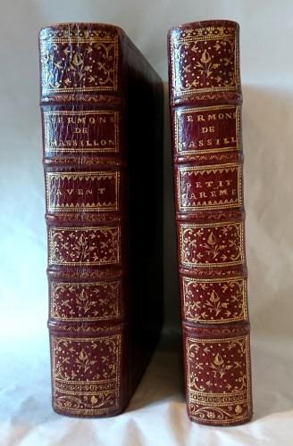 """""""Les Sermons de Massillon"""" Paris 1745 - Religious Antiques Style Louis XV"""