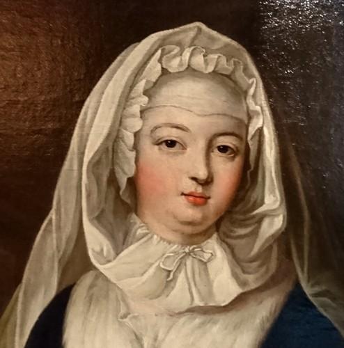 A portrait of the Duchess de Bourbon-Condé, attr. to P. GOBERT, circa 1730 -