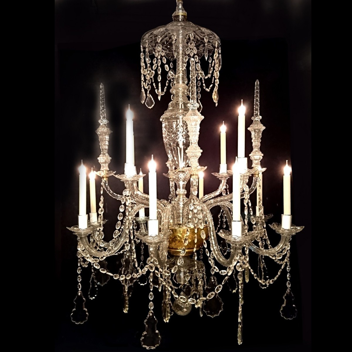 extra layer swarofski chandelier multi large style deco layered crystal art