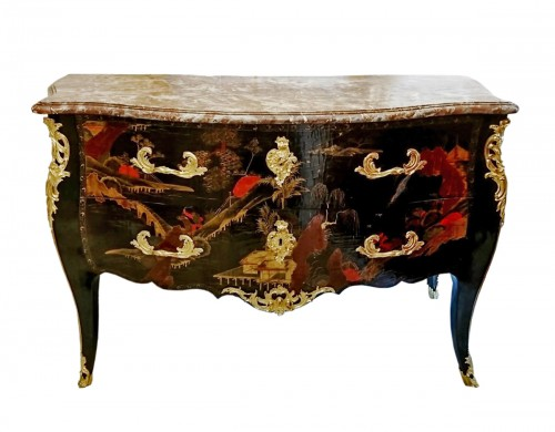 French Louis XV period Chinese lacquer commode, circa 1750
