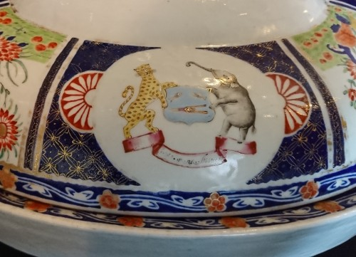 Restauration - Charles X - A large Chinese export covered heating dish, circa 1820