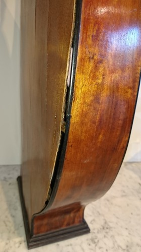 Directoire - A French Consulate period lyre guitare attributed to Mareschal